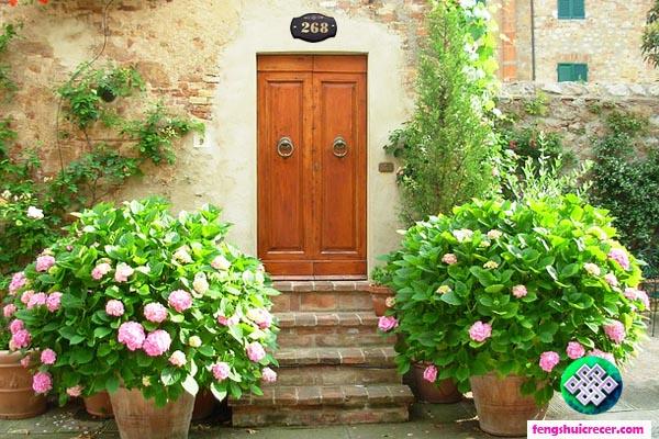 puerta entrada feng shui